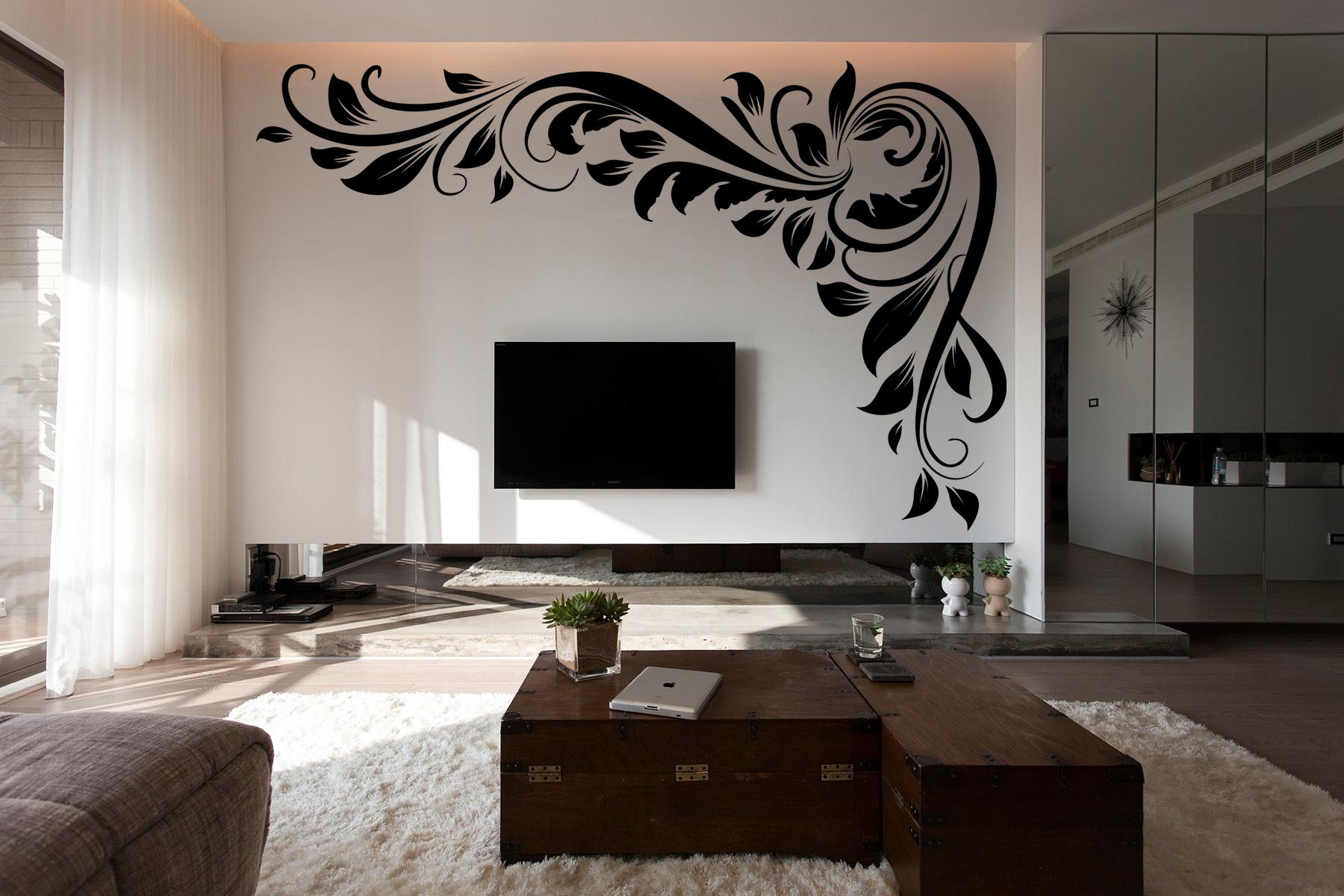 Lcd Wall Designs Living Room Home Design Ideas